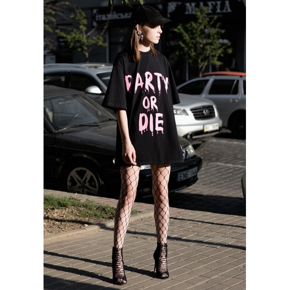 "ПЛАТЬЕ ""PARTY OR DIE"""