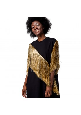 "PRE-ORDER - MINI DRESS ""FRINGE VERTICAL"""