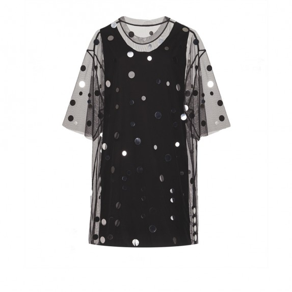 "OVERSIZE T-DRESS ""PARTY OR DIE"""