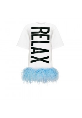 "T-DRESS ""RELAX"" WITH BOA"