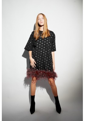 """T-DRESS WITH BOA """"DREAM PARTICLES"""""""